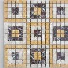 Работы с мозаикой из мрамора
